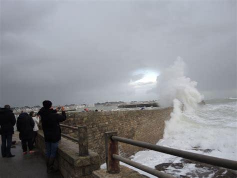 foto de Coup de vent La Bretagne en vigilance orange Bretagne