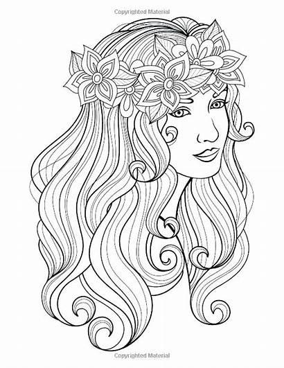Coloring Pages Hard Hairstyle Jae Baylee Face
