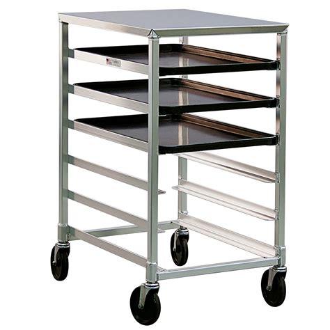 sheet pan rack new age 1321 20 38 quot w 6 sheet pan rack w 5 quot bottom load slides