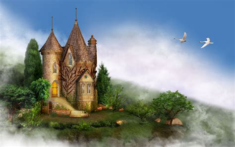 Permalink to Castle Fantasy Wallpaper