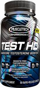 Test Hd By Muscletech At Bodybuilding Com