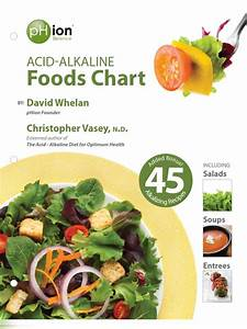 Acid Alkaline Food Chart Salad Cereals
