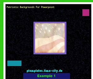 Patriotic Backgrounds For Powerpoint  Powerpoint Templates