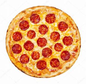 Pepperoni Pizza — Stock Photo © imagesetc #30103299