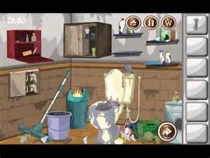 escape messy bathroom game walkthrough youtube