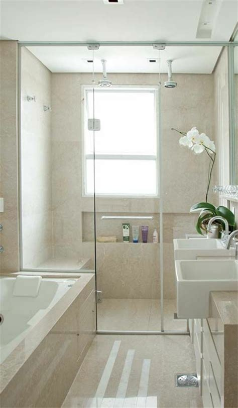 Small Modern Bathrooms With Bath by Small Bathroom Set Up Take The Challenge On Fresh