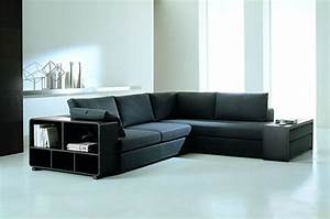 modern sectional sofas for a stylish interior With contemporary sectional sofa with built in table