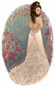 Margaery Tyrell's wedding dress on Behance