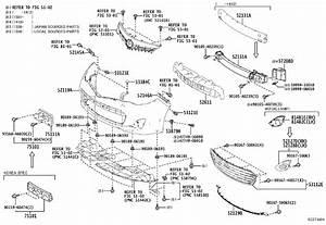 Toyota Avalon Bracket  Front License Plate  Body  Rear  Interior - 7511107050