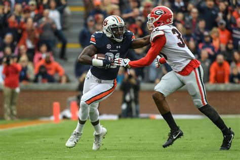 kerryon johnson  latest auburn running   rush