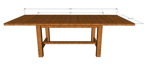diy rustic dining table pdf diy rustic dining table plans download sewing room