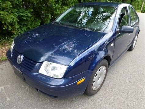 Sell Used 2001 Vw Jetta Tdi 1.9 L Turbo Diesel 49 Mpg