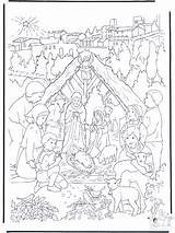 Nativity Coloring Pages Story Weihnachtskrippe Christmas Bible Manger Crib Little Die Near Adult Sheets Owned Anzeige Printable Fargelegg Advertisement Yahoo sketch template