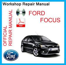 download car manuals 2007 ford focus electronic throttle control focus ford car service repair manuals ebay