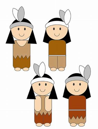 Indian Clipart Indians Border Clip Thanksgiving Tribe