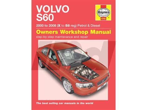 haynes shop manual volvo  uk edition