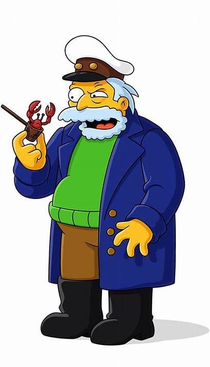 Simpsons Captain Sea Characters Character Horatio Fxx