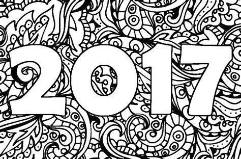 Gelukkig Nieuwjaar 2017 Kleurplaat by Kleurplaat 2018