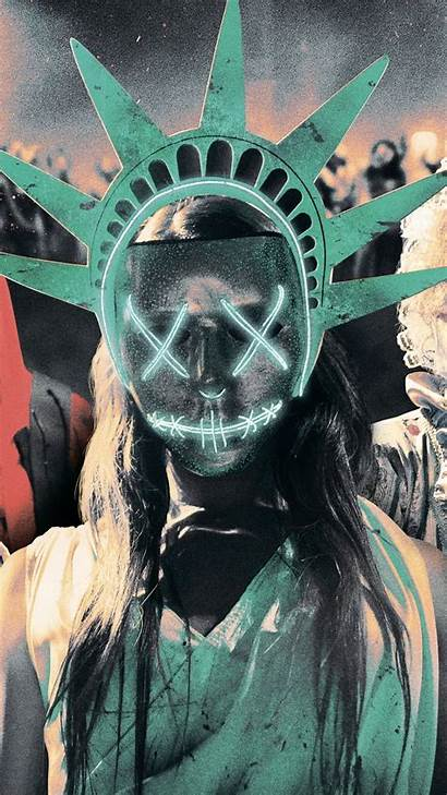 Purge Mask Election Wallpapers Poster Movies Desktop