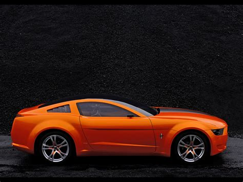2006 Ford Mustang Giugiaro Concept Side Closeup