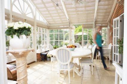 Sunroom Interior by Window Walls For Sunrooms Lovetoknow