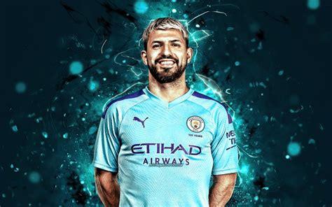 Download wallpapers Sergio Aguero season 2019 2020