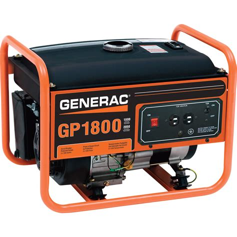 Generator Tool by Generac Gp1800 Portable Generator 2050 Surge Watts 1800