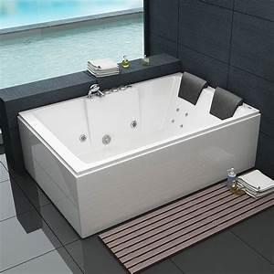 Baignoire Pour Deux : baignoire baln o rectangulaire 180x120 cm alicante ~ Premium-room.com Idées de Décoration