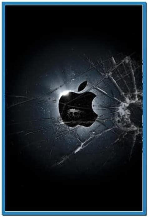 iphone screensavers broken glass screensaver iphone free