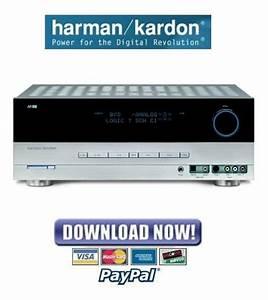 Harmon Kardon Avr144 Service Manual  U0026 Repair Guide