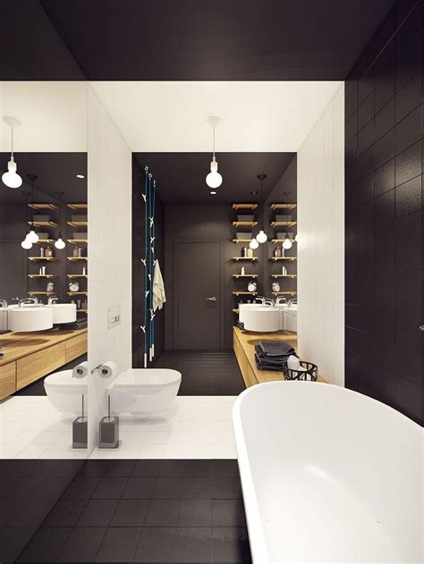 A Stunning Apartment With Colorful Geometric Design by 2090 Best Bathroom Designs Images On Bathroom