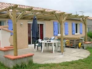 Construire Une Pergola En Bois : bois pergola et tonnelle ~ Premium-room.com Idées de Décoration