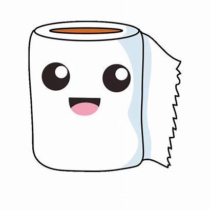 Animated Clipart Paper Toilet Crabs Transparent Gifs