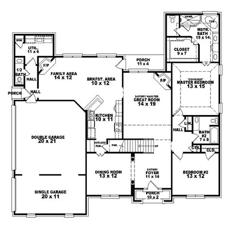 london hill luxury english home plan 087s 0178 house