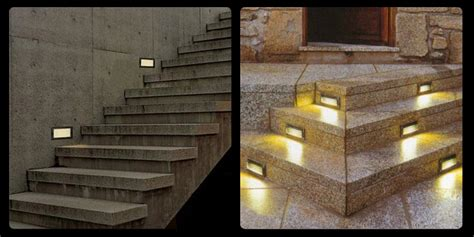 recessed led outdoor step lights 2pcs lot outdoor 3w led stairs recessed wall light led
