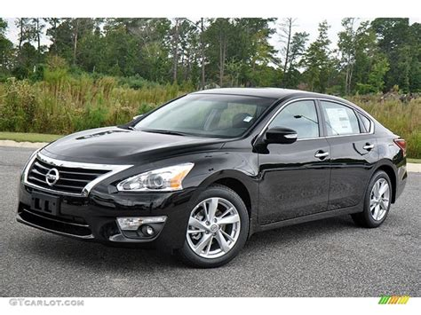 nissan altima black super black 2013 nissan altima 2 5 sl exterior photo
