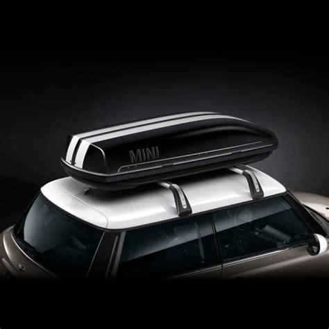 bandes blanches pour coffre de toit noir dans accessoires d origine mini gt transport boutique