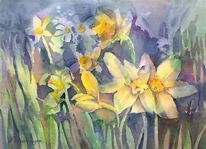 Daffodils by Arline Wagner