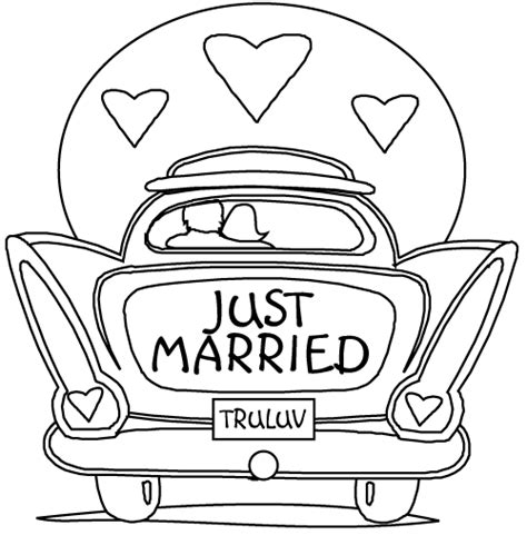 wedding coloring pages coloring pages to print - Wedding Coloring Book