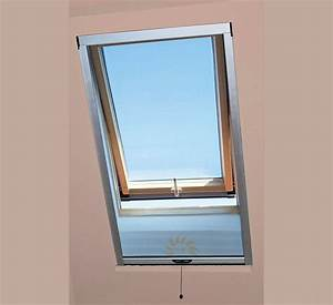 Vorhänge Für Dachflächenfenster : insektenschutz rollo f r dachfl chenfenster silber ~ Michelbontemps.com Haus und Dekorationen