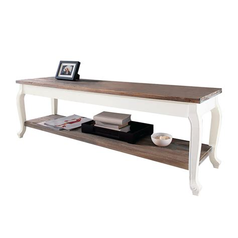 tv tisch holz tv tisch country holz home24