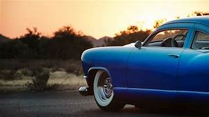 Blue Old Car HD Wallpaper HD Wallpapers