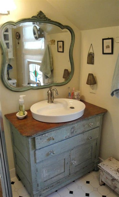 old dressers made into sinks bathroom in grey repurposed dresser into vanity and