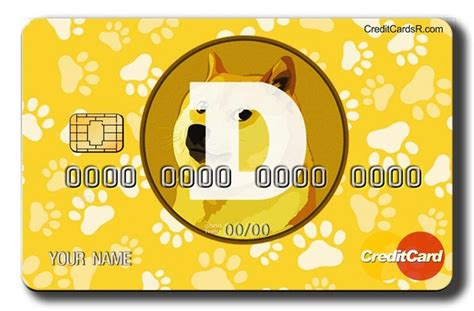 Dogecoin Credit Card cryptocurrency | Credit card ...