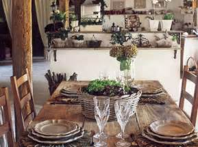 country furniture for stunning dining room decorating with rustic vibe