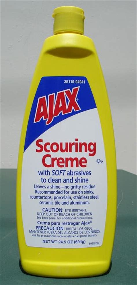 ajax bathroom cleaner msds ajax scouring creme