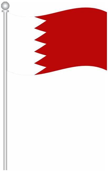Bahrain Flag Vector Pixabay