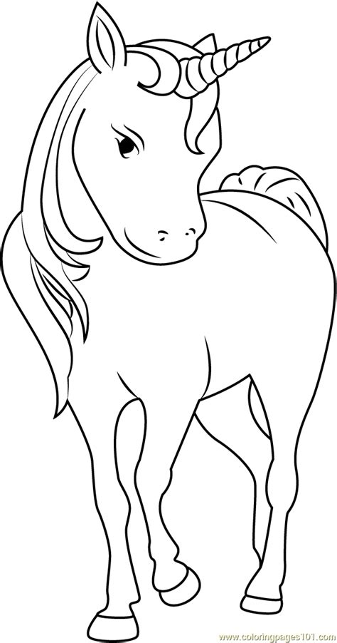 unicorn face coloring page  unicorn coloring pages coloringpagescom
