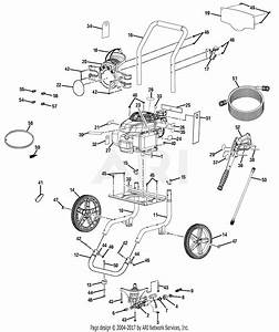 Homelite Ps80995 Powerstroke Pressure Washer Parts Diagram