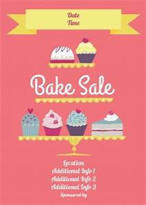 17 best bake sale poster ideas images on Pinterest